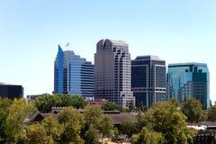 Sacramento Skyline Stock Image