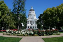 Sacramento State Capitol Royalty Free Stock Photos