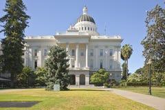 Sacramento state capitol and park California. Sacramento state capitol building and park California stock image