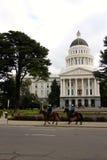 Sacramento state house California USA. Sacramento California USA On a cracking bluebird day royalty free stock image