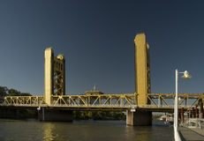 Sacramento tower bridge Royalty Free Stock Photography