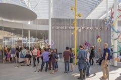 SACRAMENTO, USA NOV 13th 2016; Shrem Museum of Art at the Campus of UC Davis. Stock Image