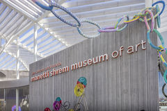SACRAMENTO, USA NOV 13th 2016; Shrem Museum of Art at the Campus of UC Davis. Stock Photography