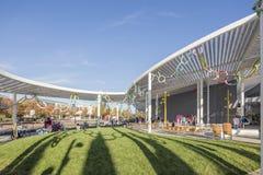 SACRAMENTO, USA NOV 13th 2016; Shrem Museum of Art at the Campus of UC Davis. Royalty Free Stock Photography