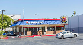 SACRAMENTO, USA - SEPTEMBER 19: Burger King location on Septembe Royalty Free Stock Photo