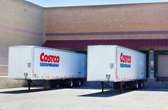 SACRAMENTO, USA - SEPTEMBER 19: Costco loading dock on September Royalty Free Stock Image