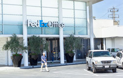 SACRAMENTO, USA - SEPTEMBER 19: Fedex Office on September 19, 20 Stock Images