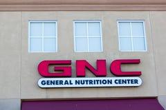 SACRAMENTO, USA - 13. SEPTEMBER: GNC-Speicher am 13. September 2013 stockfotos