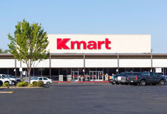 SACRAMENTO, USA - SEPTEMBER 13: Kmart store entrance on Septembe Royalty Free Stock Photography