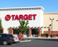 SACRAMENTO, USA - SEPTEMBER 23: Target store on September 23, 2. 013 in Sacramento, California. The Target Corporation is the second-largest discount retailer in stock photos
