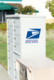 SACRAMENTO, USA - SEPTEMBER 23: USPS street box on September 23, Stock Photography