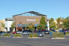 SACRAMENTO, USA - SEPTEMBER 13: Walmart store on September 23, 2 Royalty Free Stock Images