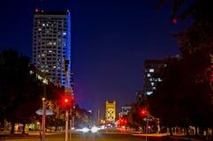 Sacramento van de binnenstad stock afbeeldingen