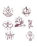 sacraments Arkivfoto