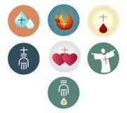 Sacraments c royalty free illustration