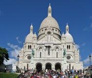 sacre фасада coeur церков Стоковые Изображения