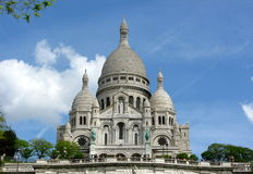 sacre Франции paris coeur Стоковое Изображение