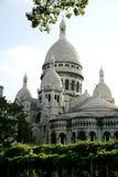 sacre Франции paris coeur Стоковые Изображения RF