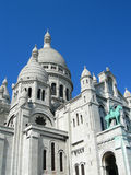 Sacre Ceure cathedral Paris Stock Photos