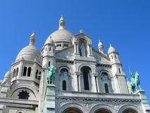 Sacre Ceure cathedral Paris Stock Photo