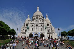Sacre Coer Royalty Free Stock Images