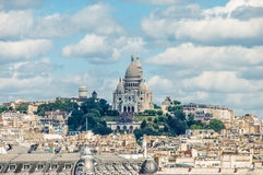 Sacre coer. In cityscape. See my other works in portfolio Stock Photography