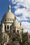 Sacre-Coeur圆顶和圆屋顶  免版税库存图片