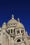 Sacre Coeur在巴黎,法国, 2015年11月15日 免版税库存照片