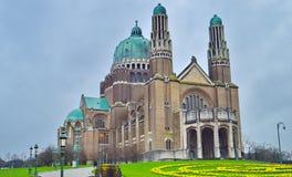 Sacre Coeur大教堂在布鲁塞尔,比利时 库存照片