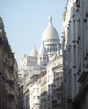 Sacre Coeur大教堂在巴黎 免版税图库摄影