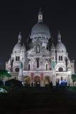 Sacre Coeur大教堂在Montmatre 免版税库存照片