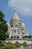 Sacre-Coeur大教堂,巴黎法国 库存图片