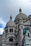 Sacre-Coeur大教堂,巴黎法国 免版税库存图片