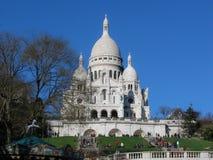 Sacre Coeur大教堂 库存照片