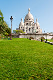 Sacre Coeur大教堂 库存图片