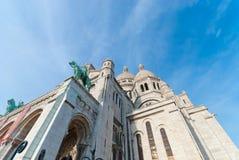 Sacre-Coeur大教堂 免版税库存照片