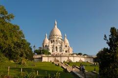 Sacre Coeur大教堂 图库摄影