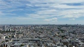 从Sacre Coeur的一个看法 库存图片