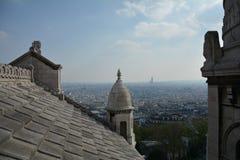 从Sacre coeur的看法 库存图片