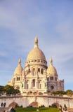 巴黎Sacre-Coeur的耶稣圣心的大教堂 免版税库存图片