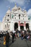 Sacre Coeur,巴黎法国 图库摄影