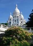 Sacre-Coeur, Montmartre,巴黎 免版税库存图片