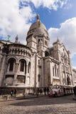 Sacre Coeur, διάσημο ορόσημο τουρισμού εκκλησιών στο Παρίσι Γαλλία Στοκ Εικόνα