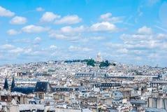 Sacre Coeur, Παρίσι Στοκ Φωτογραφία