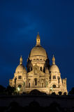 Sacre Coeur в Париж Стоковое Изображение RF