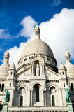 Sacre Coeur в Montmartre, Париж Стоковые Изображения