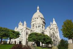 Sacre-Coeur, Париж, франция Стоковое Изображение