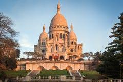Sacre Coeur, Париж Стоковое Изображение RF
