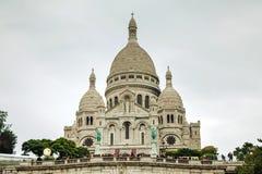 巴黎(Sacre-Coeur)的耶稣圣心的大教堂 免版税库存图片