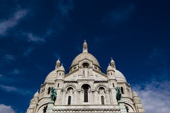 Sacre Coeur. The church of Sacre Coeur, which overlooks Paris Royalty Free Stock Image